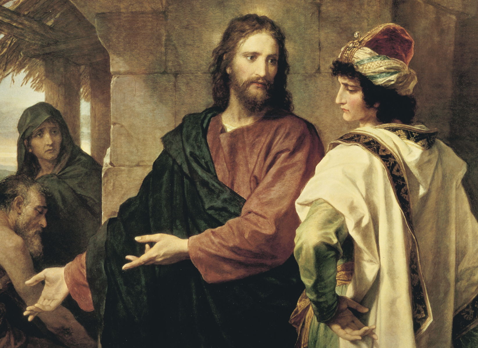 Kristur og ríki maðurinn